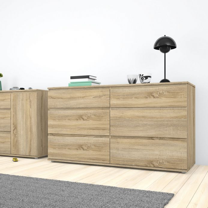 Nova Chest of Drawers in Oak